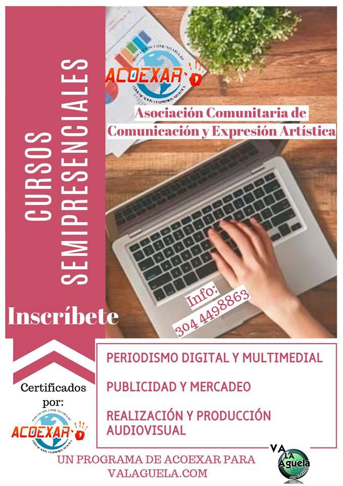 Cursos Certificados Disponibles modalidad Semipresencial