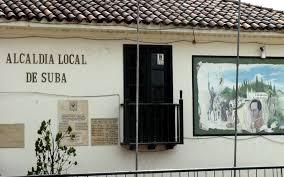 Feria artesanal en el portal de Suba