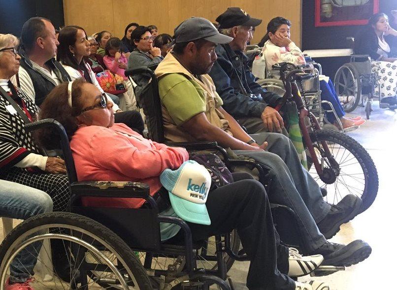 #Discapacidad.Primer Encuentro Interlocal: Chapinero, Teusaquillo, Usaquén, Barrios Unidos, Suba y Engativá.
