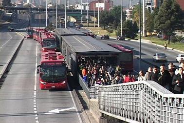 Una captura por Atraco en bus de TransMilenio