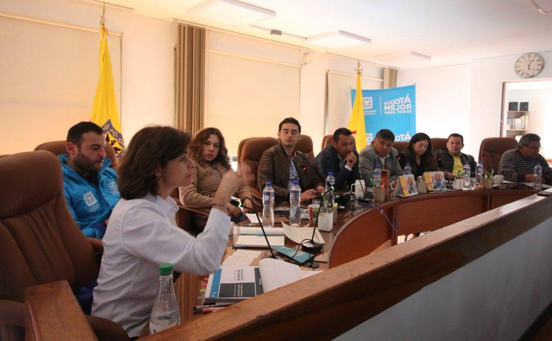 La Secretaría de Cultura visitó la localidad Antonio Nariño