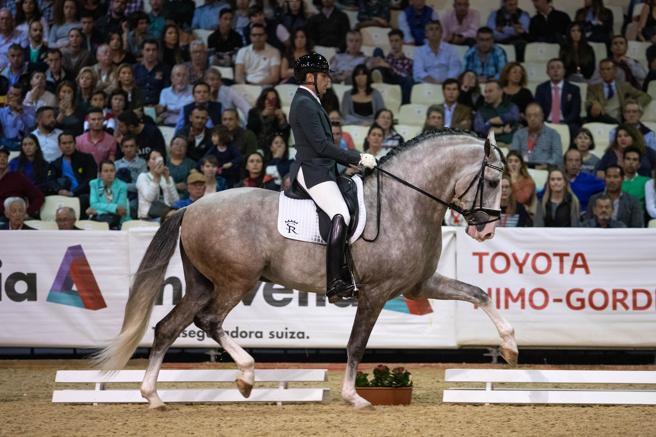 El caballo de Sergio Ramos, campeón del mundo
