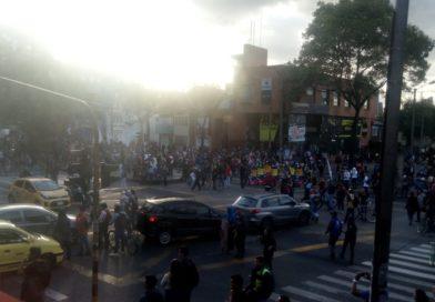 Jueves de Marchas en Bogotá