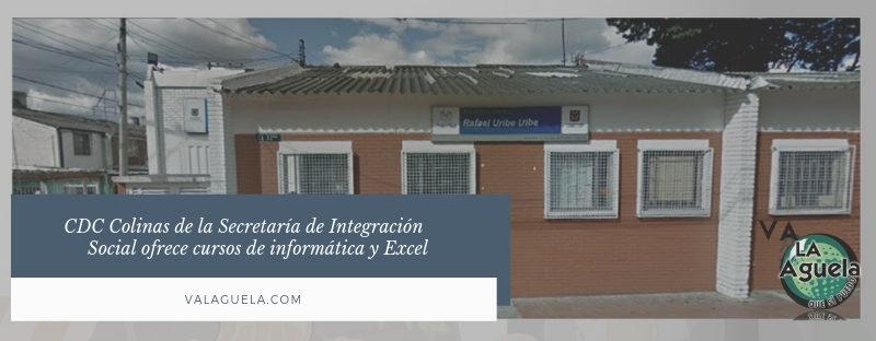 CDC Colinas de la Secretaría de Integración Social ofrece cursos de informática y Excel