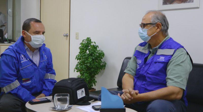 Organización Panamericana de Salud dona 100 mil pruebas para el diagnóstico de COVID-19