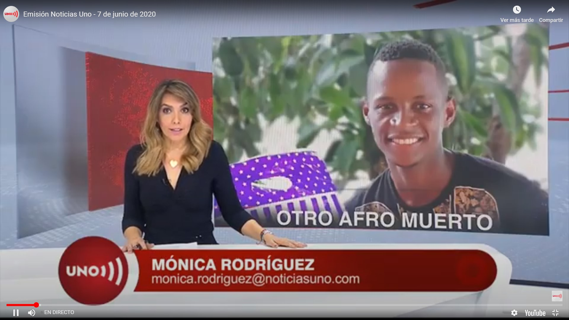 Mónica Rodriguez en Noticias UNO - Valaguelaquesipuedo