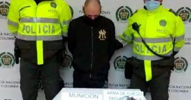 [VÍDEO] Capturaron a irresponsable que realizó disparos al aire en Rafael Uribe Uribe