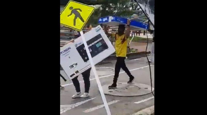 SiSePuede [VÍDEO] Ciudadanos de Cali recuperaron los artículos hurtados por  los saboteadores de la marcha - Valaguelaquesipuedo