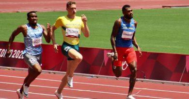 #SiSePuede Anthony Zambrano Clasificó a la final de los 400 metros en Tokio 2020