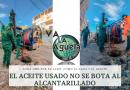 EL ACEITE USADO NO SE BOTA AL ALCANTARILLADO