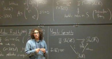 Sí se puede, joven matemático colombiano, un referente mundial en ciencia